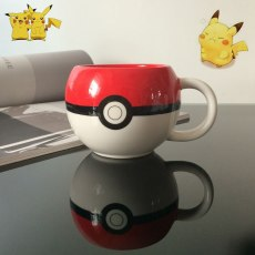 Pokemon Poke Ball Thermos Ceramics Cup 400ML