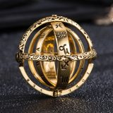 Astronomical Ball Rings Silver Gold Creative Couple Rings