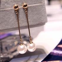 Pearl Tassel Earrings Jewelry Earrings