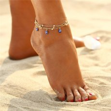 Summer Style Turkish Eyes Beads Anklets