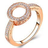 Rose Gold Color Bow knot Ring