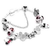 Mickey Minnie Charm Bracelets DIY