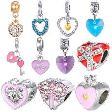 Mickey Charm Beads  Pandora Bracelet Necklace DIY