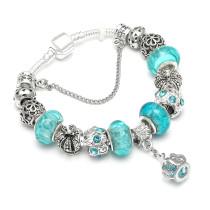 Silver Plated Charm Bangle & Bracelet