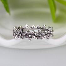 Arrival Dazzling Daisy Genuine Engagement Ring