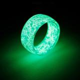 Luminous Glow Ring Glowing In The Dark Jewelry Unisex