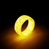 Luminous Cracked Ring Glow In The Dark Fashion Finger Rings