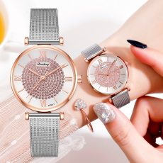 Rhinestone Quartz Bracelet  Watches