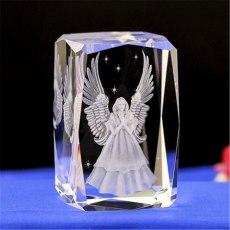 3D Guard Angel Crystal Ball