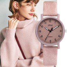 Leather Wrist Quartz Watches