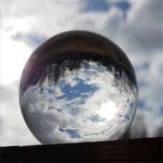 Clear Glass Ball Photography Crystal Glass