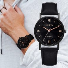 Leather Quartz Watches