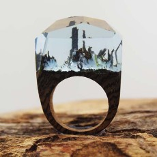 Magic Forest Creative Wood Ring
