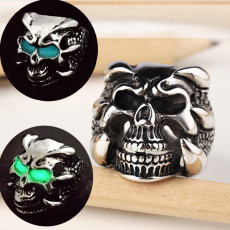 Skull Wolf Teeth Ring