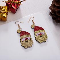 Santa elk Earrings
