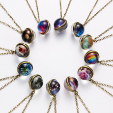 Galaxy Cosmic Luminous Necklaces