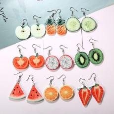 Fruit Pineapple Earrings