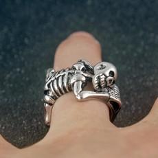 Punk Style Skull Ring