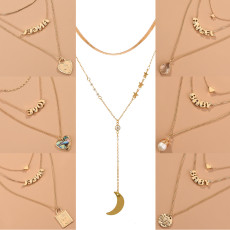 26 Letter Multi-layer Necklace
