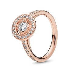 Charming Couple Rose Gold Ring