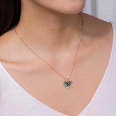 Natural Abalone Shell Geometry Necklaces