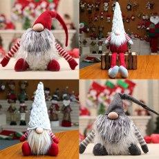 Christmas Pendant Santa Claus Snowman Elk Toys