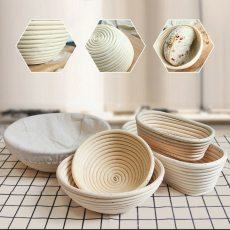 Oval Rattan Basket Kitchen Gadget