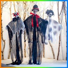 Halloween Hanging Reaper Ghost Skeleton Pirate Decoration