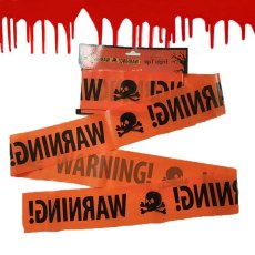 Warning Tape Halloween Decoration Props