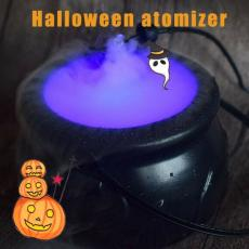 Halloween Witch Jar Cauldron Mist Maker