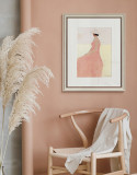 European Style Painting Pink Series Ins Art Painting