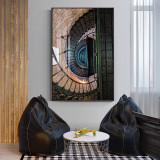 Nordic Industrial Style Architectural Art Painting
