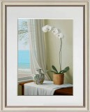 Simple Modern Landscape Decorative Painting Nordic Flower Mural