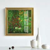 European Retro Decorative Painting Flower Plant Landscape Painting