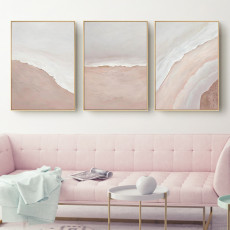Postmodern Minimalist Living Room Decoration Painting Seaside Landscape Painting