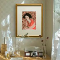 Light Luxury European Art Decorative Painting Living Room Retro Mural