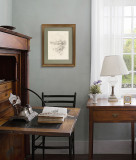 American Art Decorative Painting Bedroom Architectural Painting