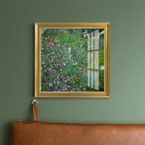 European Retro Decorative Painting Flower Plant Landscape Painting