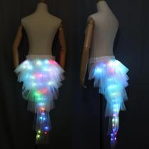 Fashion Dance LED Tutu Skirt Up Neon Fancy Rainbow Mini Tutu Fancy Costume Adult Light Skirt TFS Corset Tutu Skirtr