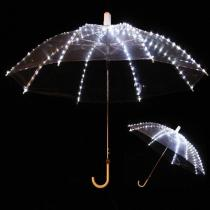 LED Luminous Umbrella Fluorescent Dance Luminous Umbrella Stage Performance Costumes Light Props Large Dance Performance