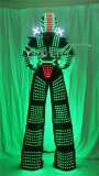 Traje de Robot LED Laser Suit Costume Clothing used with High Heel Predator led Costume Laser Gloves