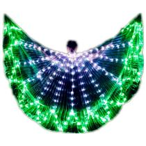 Wings Isis Sticks Adult Led Multicolor Accessories Lamp Props 360 Degrees Angle LED Wing Butterfly Christmas Performance