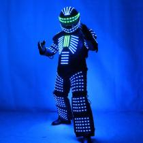 LED Robot Costume Robots Clothes DJ Traje Party Show Glow Suits  for Dancer Party Performance Electronic Music Festival DJ Show
