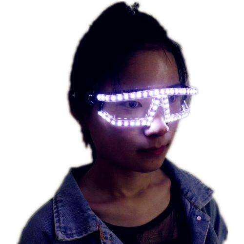 LED Glasses Rave LED Glow Glasses Party for Easter Christmas Halloween Birthday Night Bar Performance Stage Costume Clothes