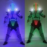 Traje De LED Robot Suit Costume Robot Armor Used with High Heel Predator Led Costume Laser Gloves