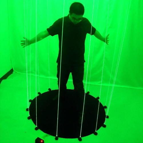 Green Laser Dancing Mat Bar and Nightclub Laser Stage Programming Custom Laser Sword Stage DJ Music Show Stage Lighting