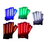LED Gloves Laser Show Garment Stage Props Nightclub Singer Dancer Bright LED Light Gloves