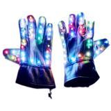 LED Stage Gloves Luminous GloveFor Michael Jackson Billie Jean Dance for Christmas