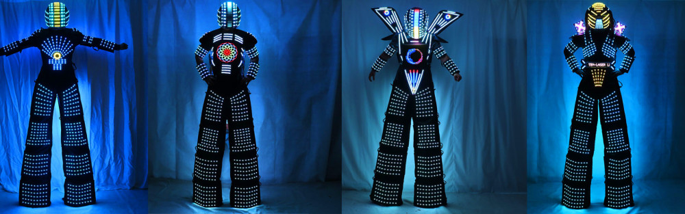 LED Robot Costumes