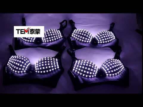 Nightclub Clubwea Ds Costumes Nightclub Bar Clubwear Led Bra Led Costume Light-up Bra